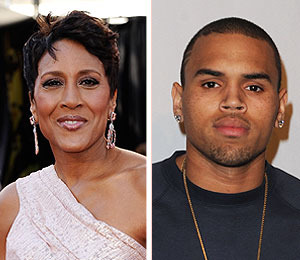 Extra Scoop: Video! 'GMA's' Robin Roberts 'Shocked' Over Chris Brown Incident