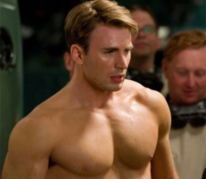 Trailer! Chris Evans Buffed-Up for 'Captain America'