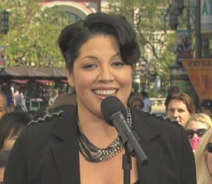 'Grey's' Sara Ramirez Performs at The Grove