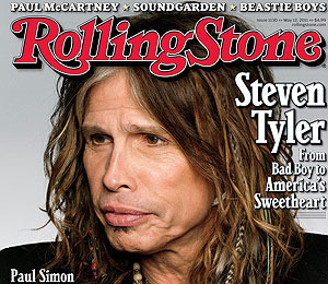 Cover Boy! Steven Tyler Talks Aerosmith, 'Idol' in Rolling Stone