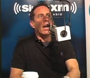 Jerry Seinfeld Joins Tom Papa on SiriusXM's 'Come to Papa'