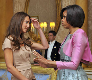 Trendy & Fabulous: Michelle Obama and Kate Middleton Meet