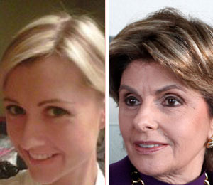 Weiner Woman Ginger Lee Receives Threats -- Lawyers Up with Gloria Allred