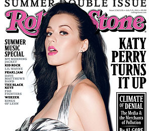 Bikini Cover Girl! Katy Perry in Rolling Stone
