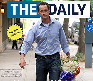 Anthony Weiner -- Why Sext When You Can Say It with Flowers?!