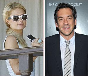 Paris Hilton and 'Hangover' Director Lock Lips