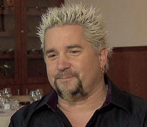 Food Network's Guy Fieri Dishes Diet Advice