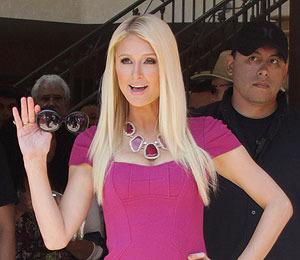 Reality Bites: Paris Hilton Under Guard at The Grove