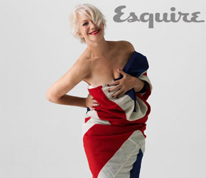 Helen Mirren is Provocatively Draped for Esquire!