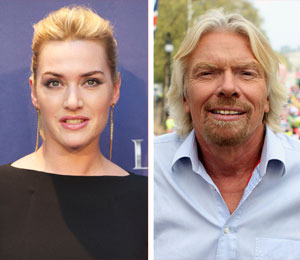 Kate Winslet Escapes Fire on Branson's Necker Island