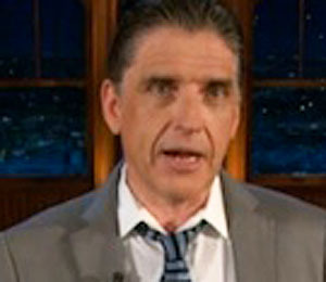 Craig Ferguson Jokes about White Powder Scare