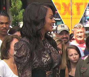 LaLa Anthony Talks 'Life' and Kim K. Wedding at The Grove!