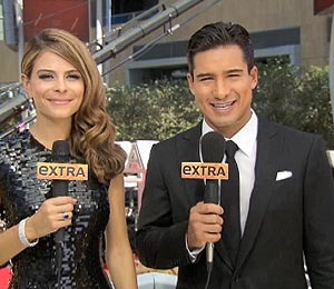 'Extra' at the Emmys: Bloopers!