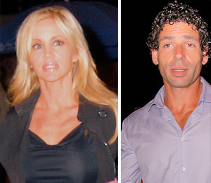 Camille Grammer Steps Out with New BF