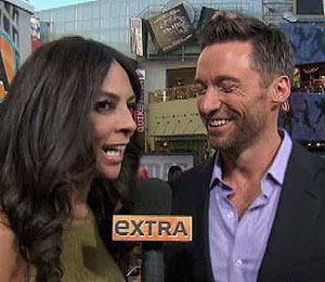 Hugh Jackman on His 'Real' Kiss with Co-Star Evangeline Lilly