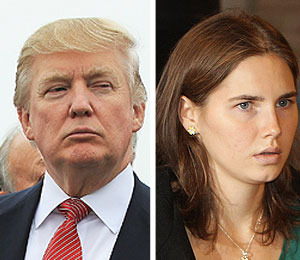 Donald Trump and Other Stars React to Amanda Knox's Acquittal