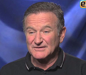 Robin Williams Has 'Happy Feet'
