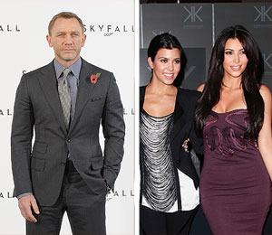Daniel Craig Slams Kardashians, Calls Them Bleeping 'Idiots'