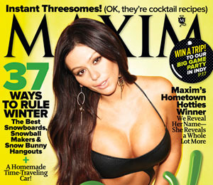 'Jersey Shore's' JWoww Displays Major Cleavage on Maxim