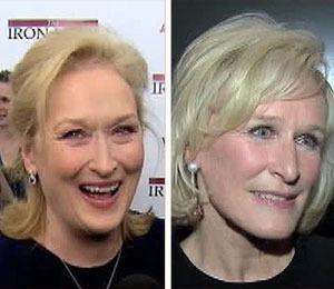 'Extra' Raw: Meryl Streep and Glenn Close Arrive to NYC Premieres