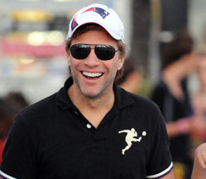Pic! Jon Bon Jovi is Alive and Well and in St. Bart's