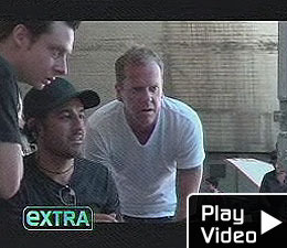 Kiefer in Director's Chair for Lifehouse