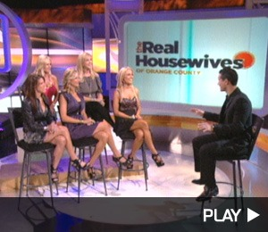 The 'Real Housewives of Orange County' Visit 'Extra'
