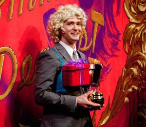 Justin Timberlake Wins Pudding Pot