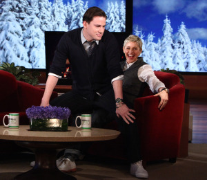 Channing Tatum Demonstrates Stripper Moves