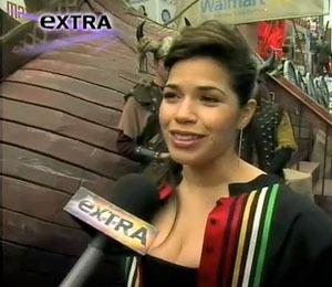 America Ferrera at 'Dragon' Event