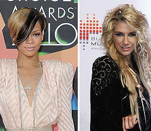 Rihanna and Ke$ha Team Up
