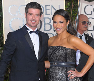 It's a Boy for Robin Thicke and Paula Patton!