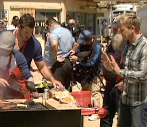 Video: Behind the Scenes of Gordon Ramsay's 'Masterchef'