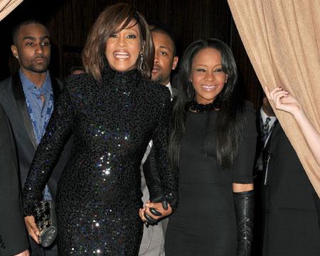Bobbi Kristina Wants to Play Whitney Houston in Biopic