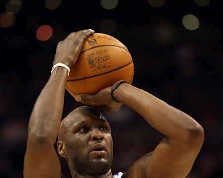 Lamar Odom Done in Dallas
