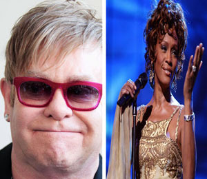 Elton John: 'I Took Just as Much Cocaine as Whitney'