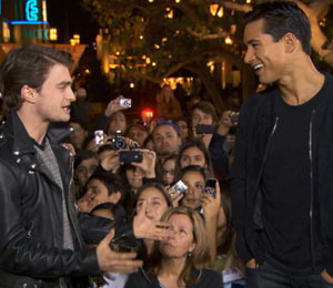 'Extra' Raw! Daniel Radcliffe Mania at The Grove!