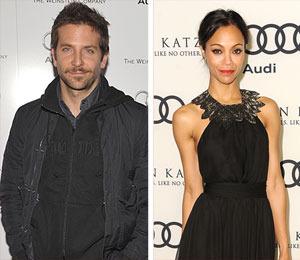 Are Bradley Cooper and Zoe Saldana Living Together?