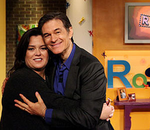 Rosie O'Donnell Reveals Big News to Dr. Oz