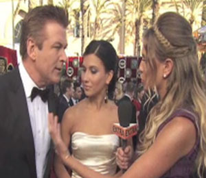 Alec Baldwin Joked about How He Arrived to the SAG Awards