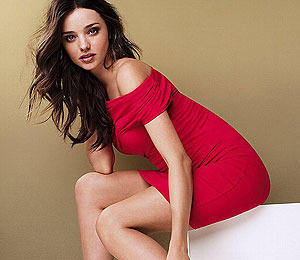 Photos! Miranda Kerr in Victoria's Secret Pose