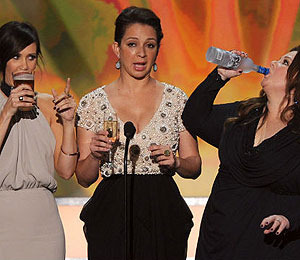 The 'Bridesmaids' Girls Drink to Scorsese