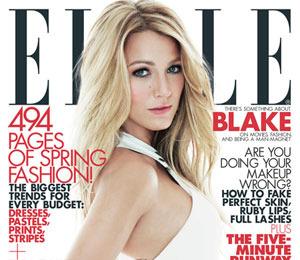 'Gossip Girl' Talk: Blake Lively is Elle Cover Girl