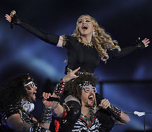 Video! Highlights from Madonna's Halftime Super Bowl Show