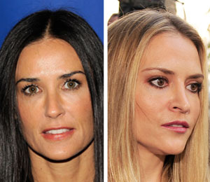 Report: Demi Moore in Rehab with Charlie Sheen's Ex, Brooke Mueller