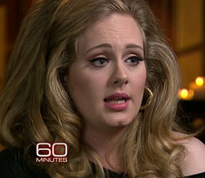 Extra Scoop: Adele Speaks Out on '60 Minutes'