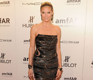 Heidi Klum Out of Hiding and on the Red Carpet
