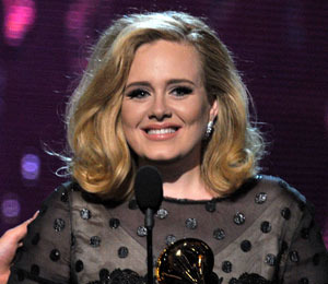 Big Winner Adele Sweeps Grammys with 6 Awards
