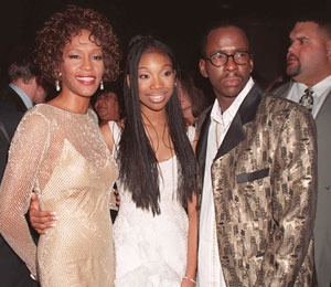 'Extra's' Lost Video! Brandy and Whitney Houston's Meeting in 1995