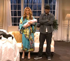 Video! Maya Rudolph, 'SNL' Spoof Beyoncé, Jay-Z and Blue Ivy